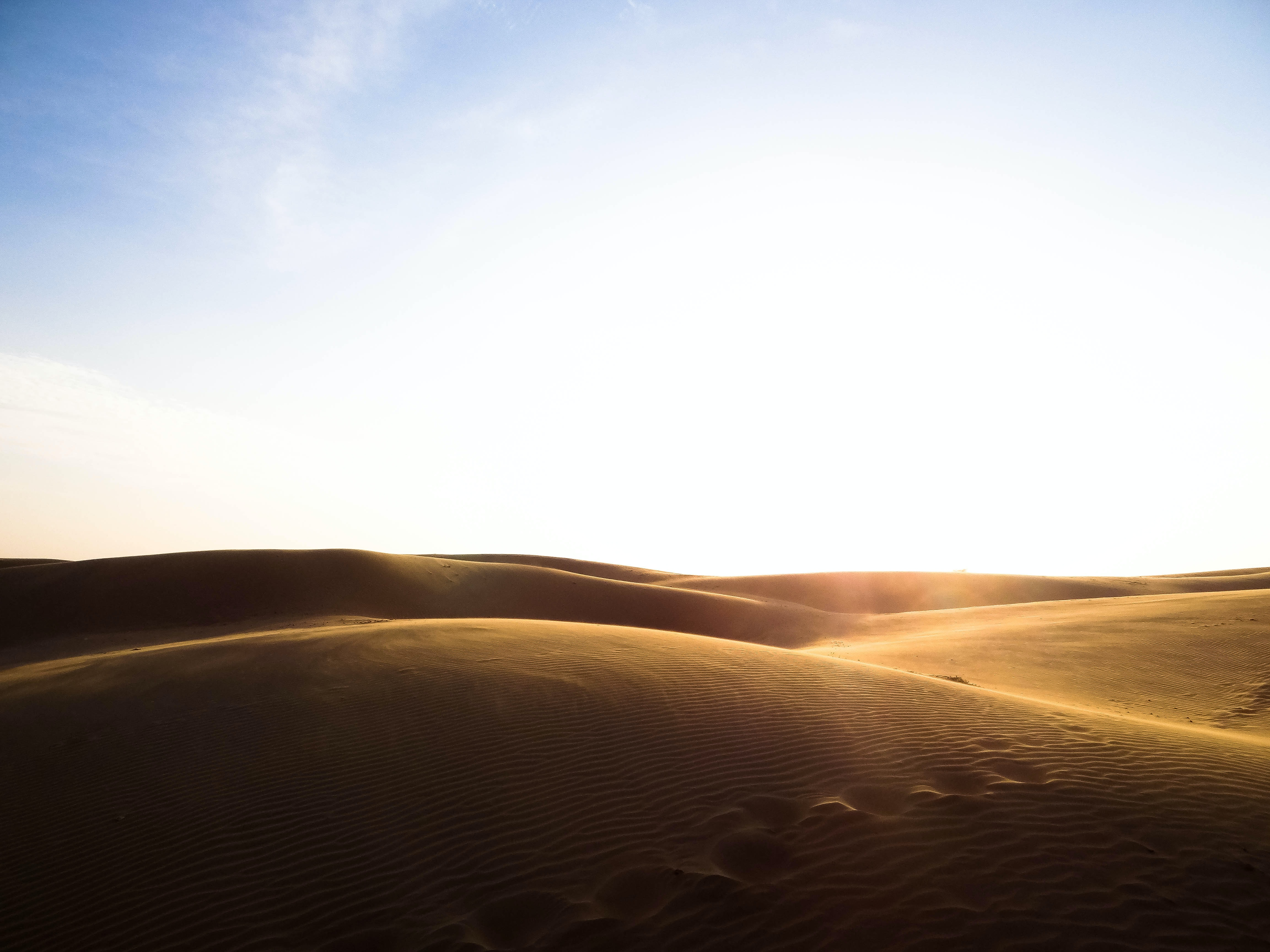 landscape photography of sand during daytime