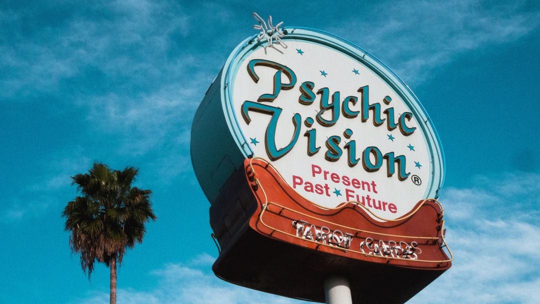 Psychic Vision Sign