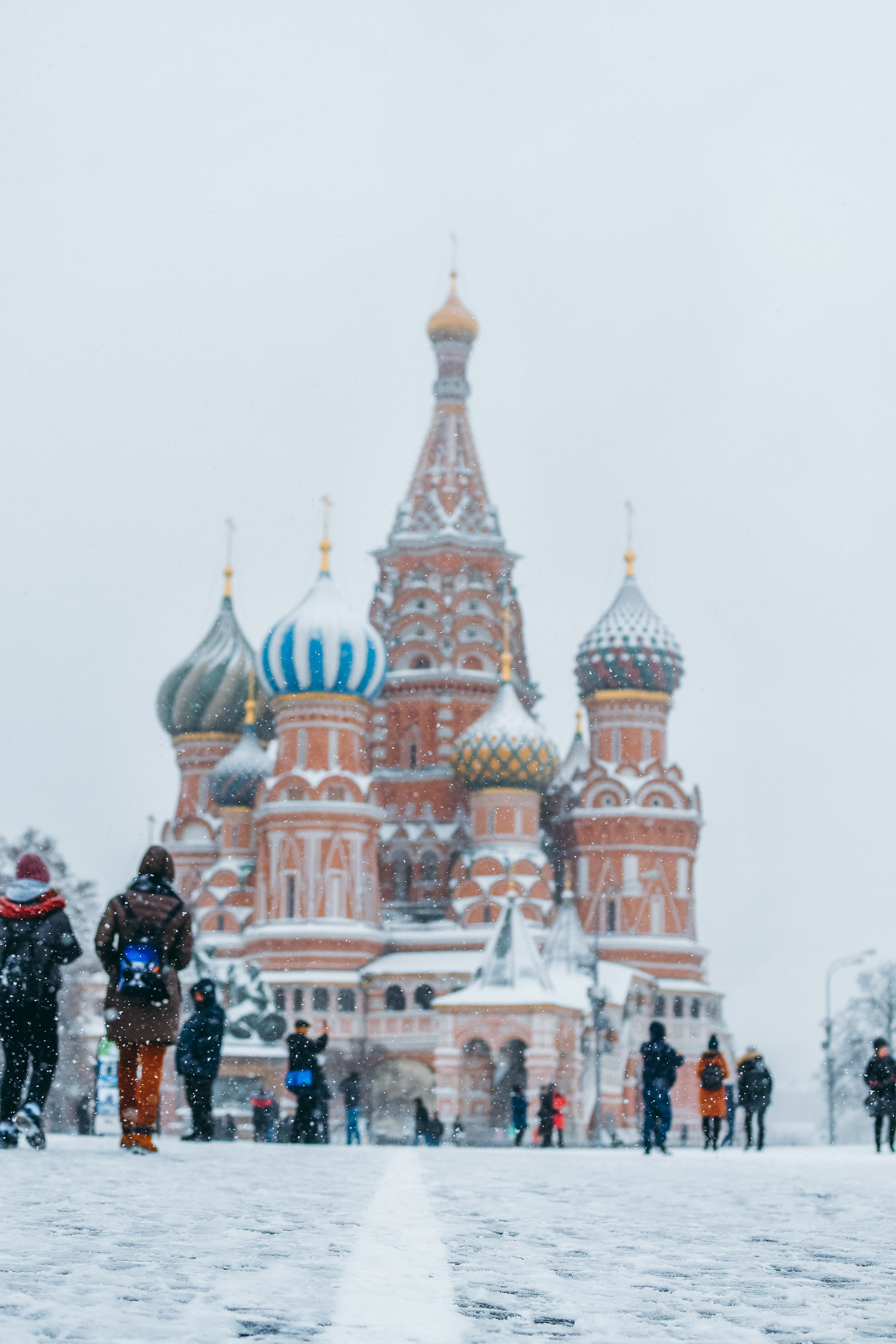 Saint Basil's Cathedral, Russia