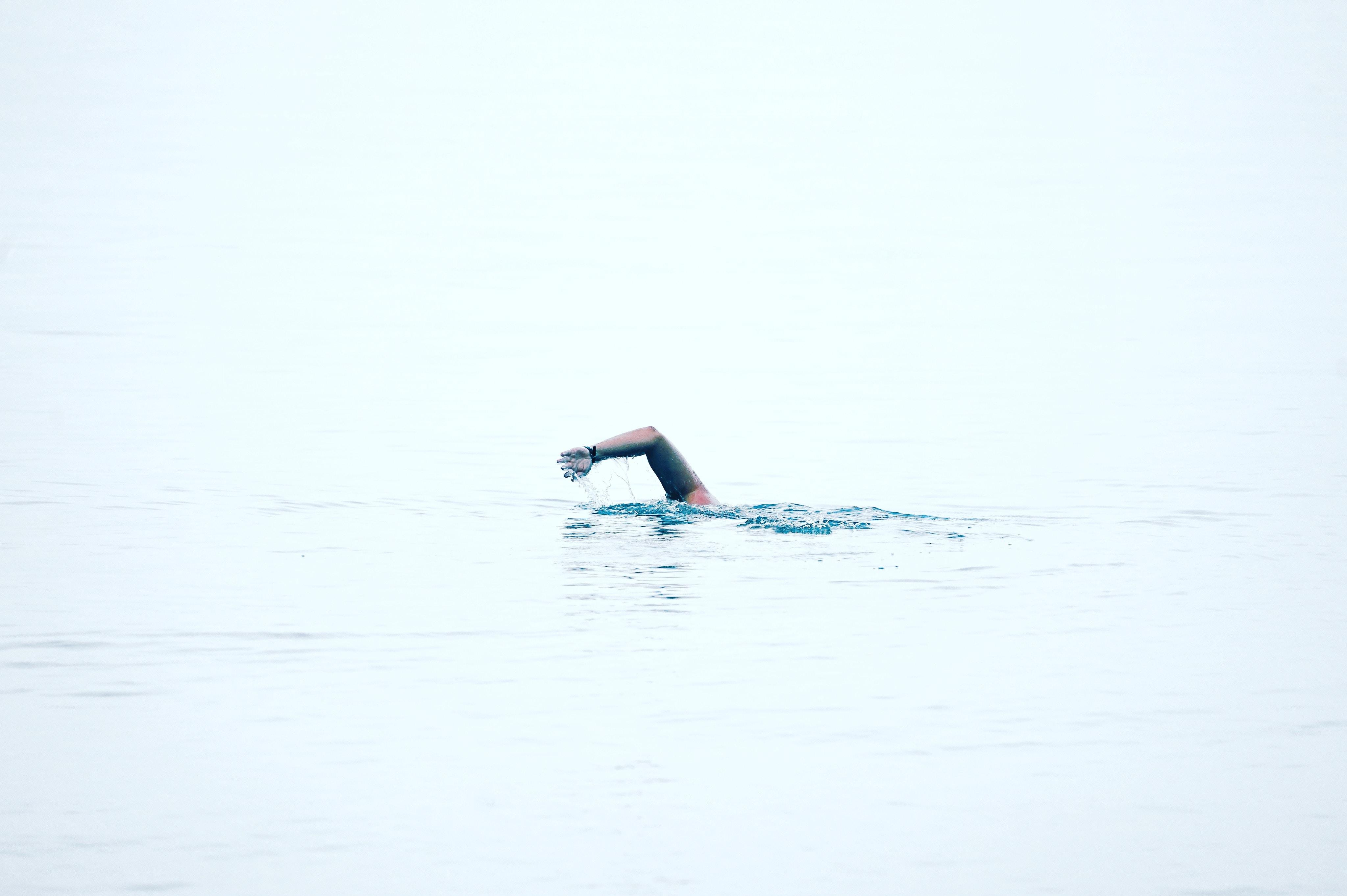 person swim