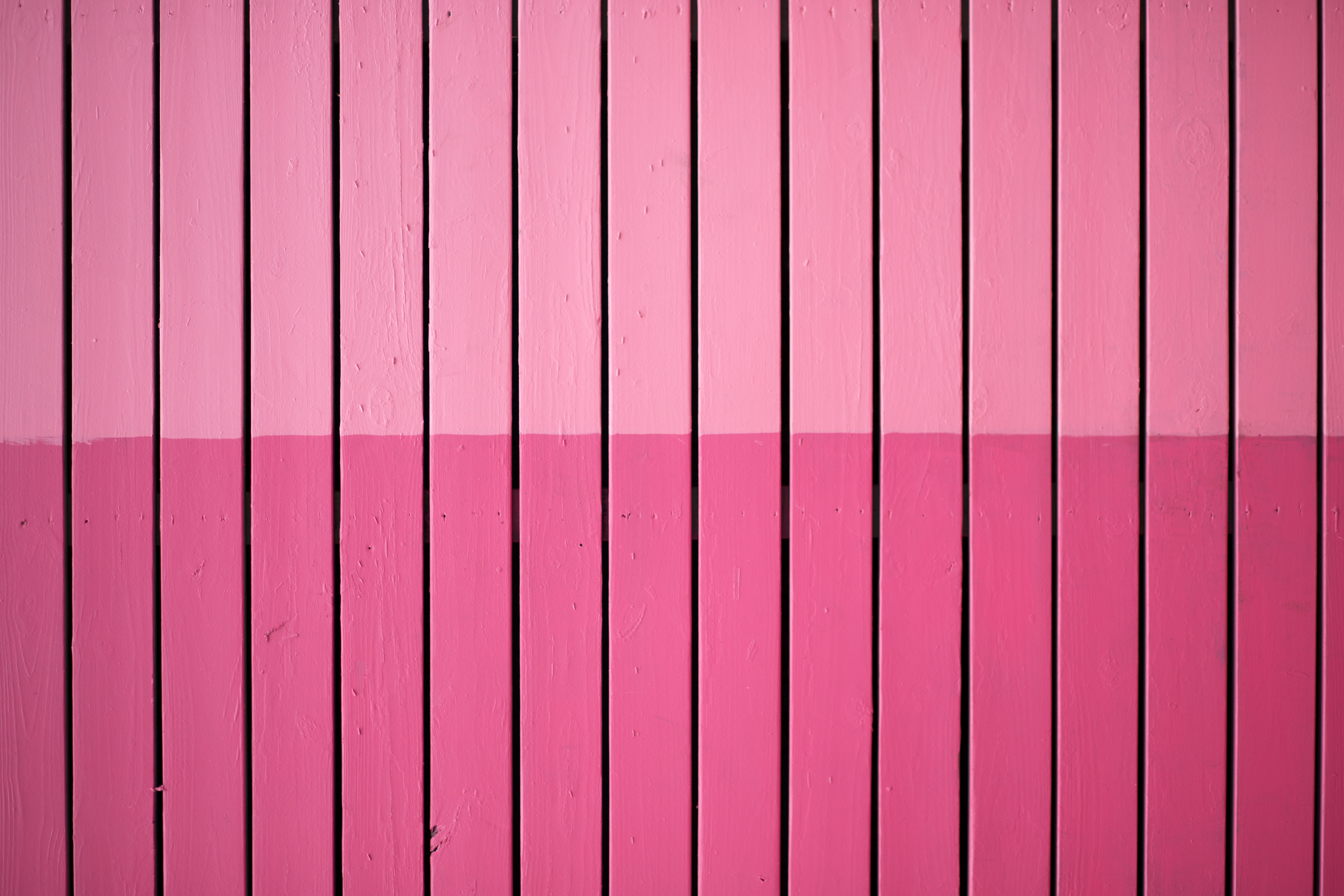 closeup photo of pink paint plank wall