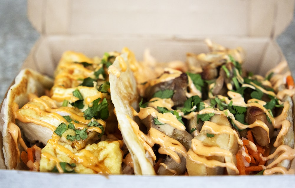 taco on box