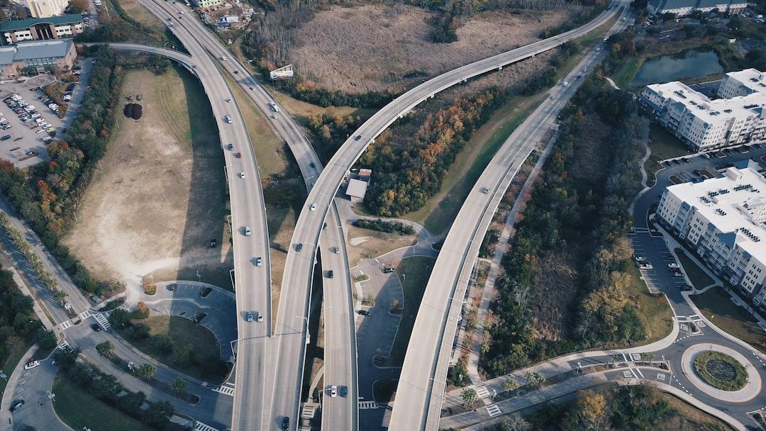 Roads Leading to the Arthur Ravenel Jr. Bridge
