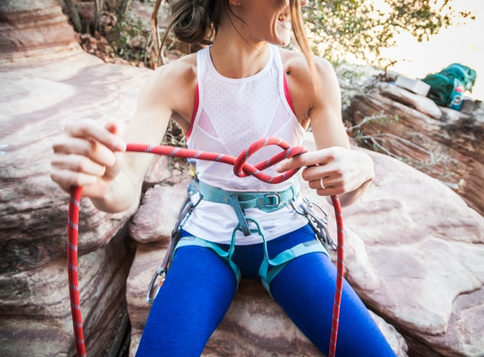 rock climbing gear - Harness