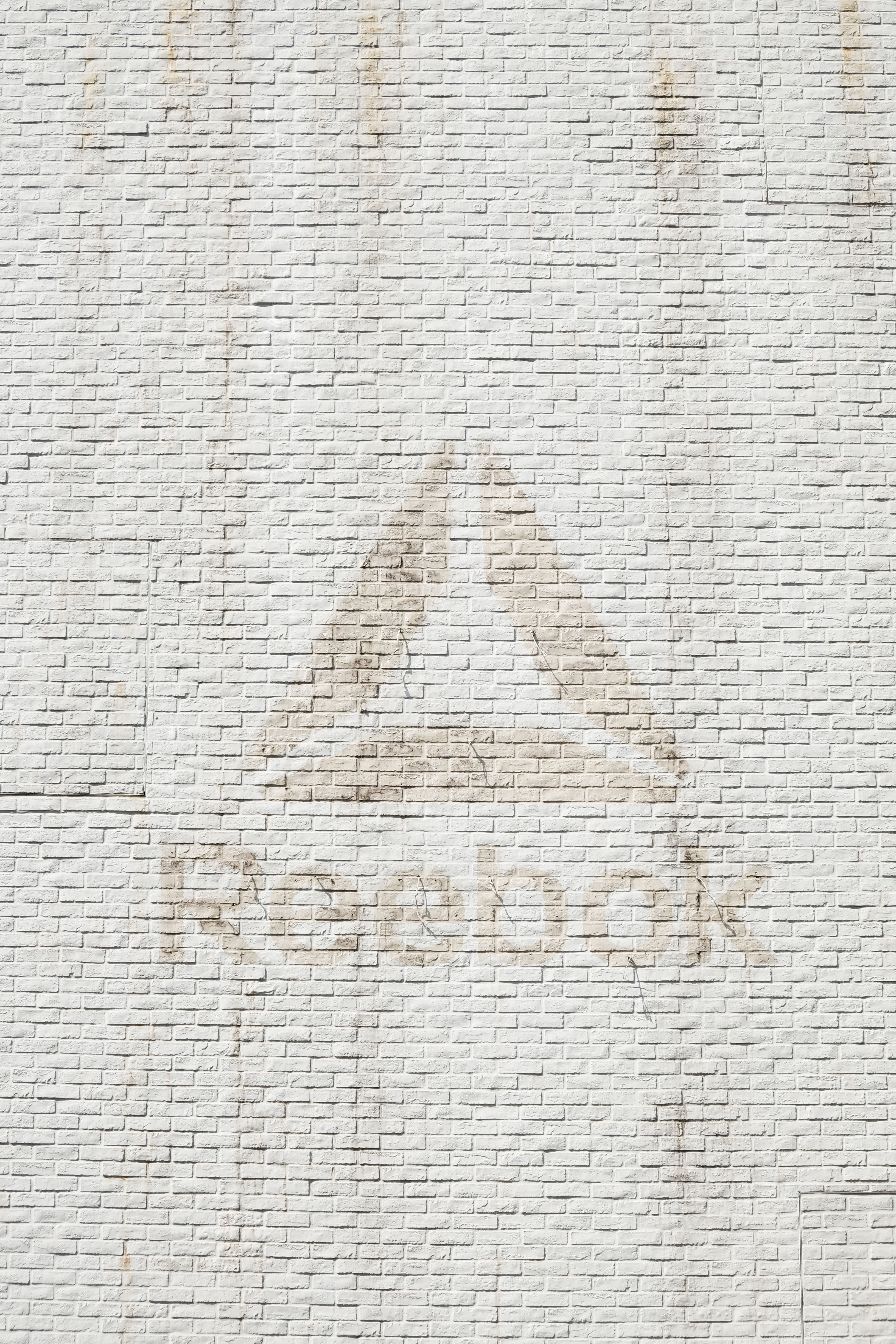 close-up photo of Reebok logo on wall
