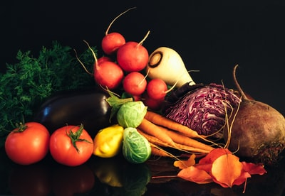assorted vegetables vegetable teams background