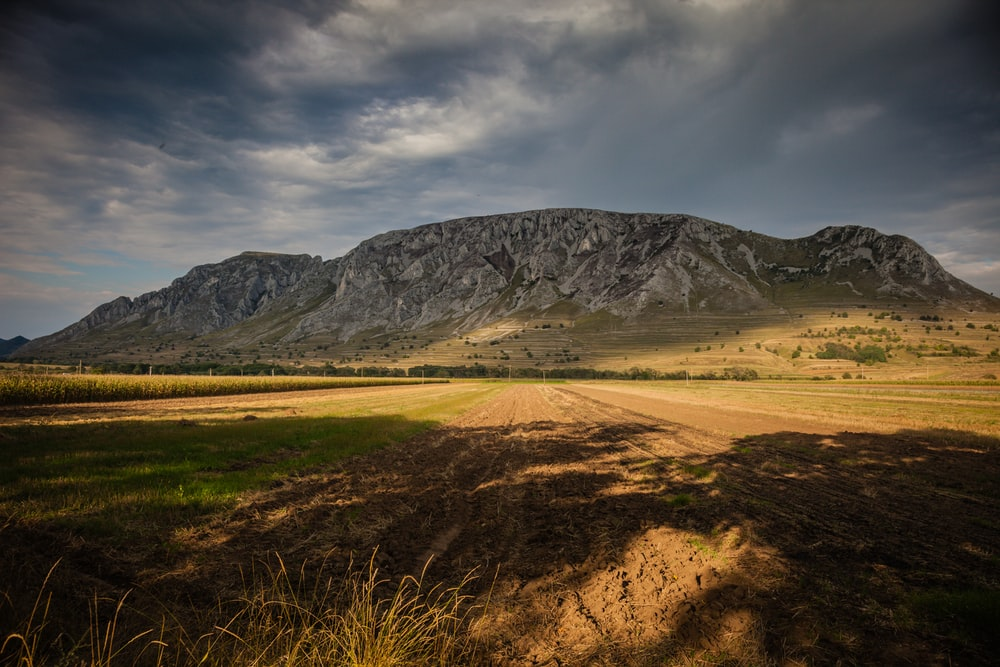 gray mountain range during daytime