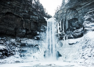 falls and snow photo