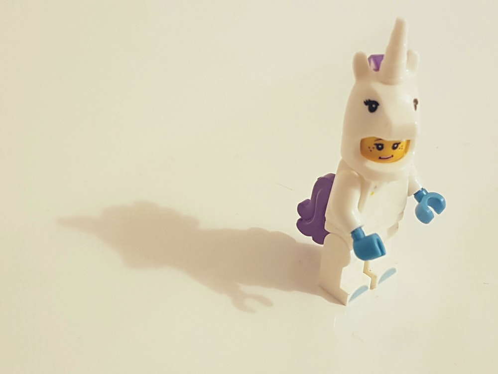 Lego unicorn toy