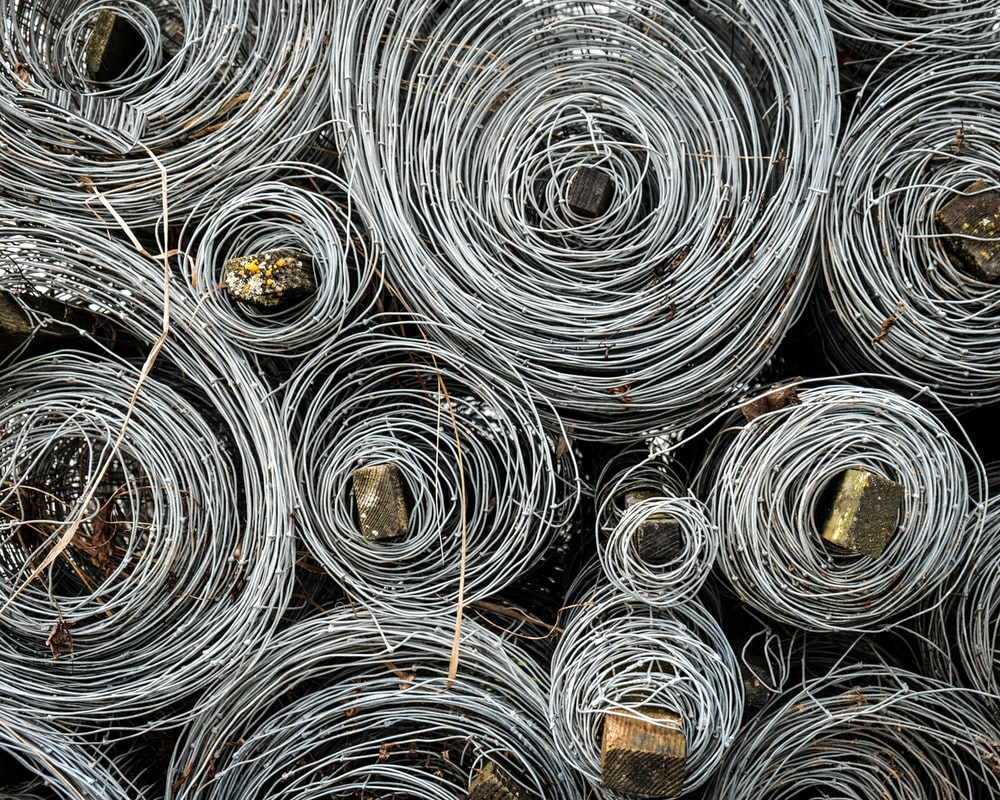 gray wire lot