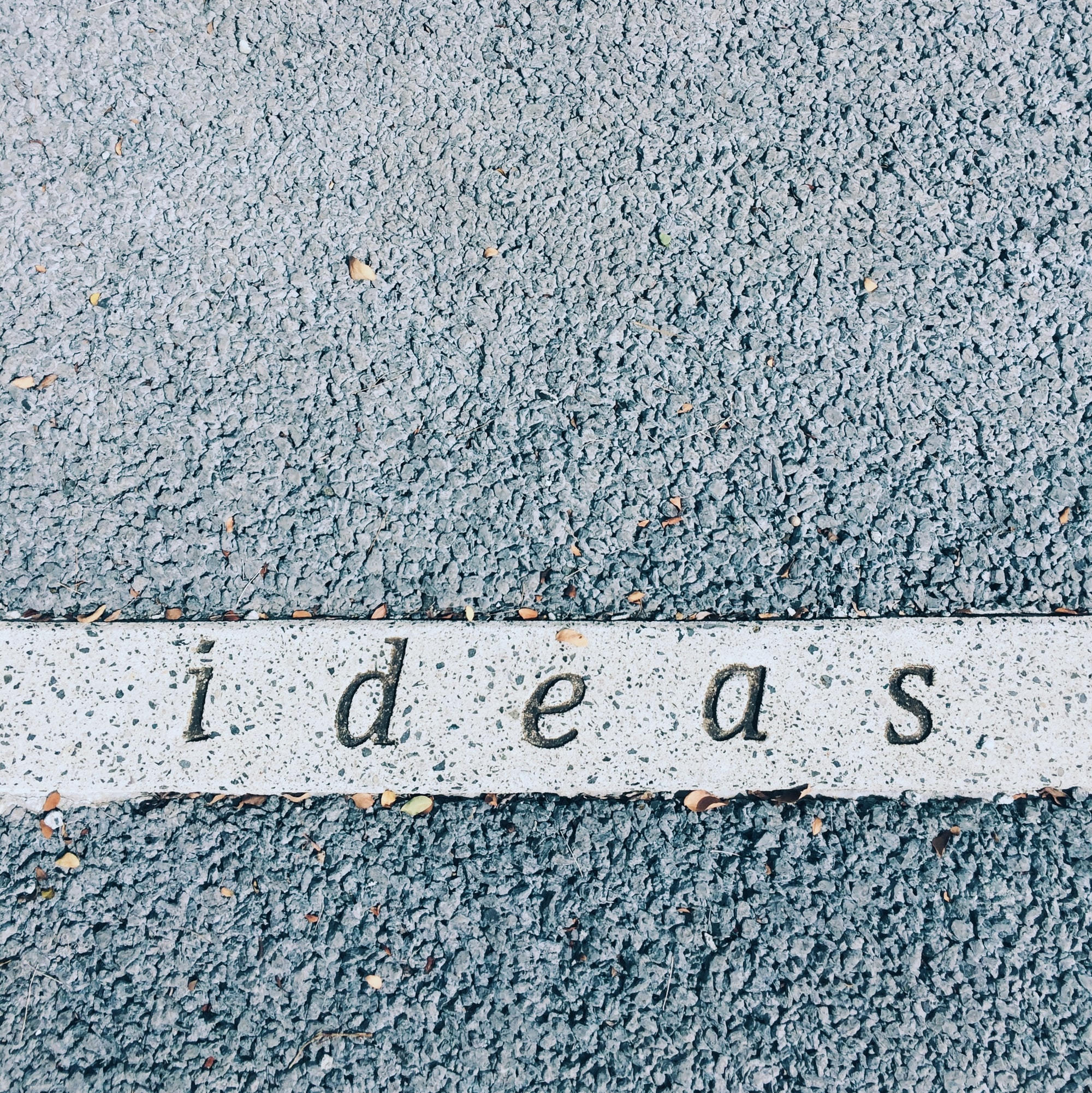 How to think about ideas?
