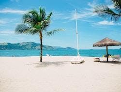 Sonne und Strand am Indischen Ozean