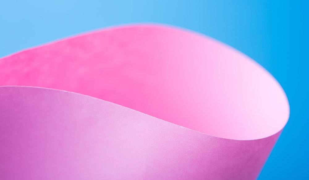 pink paper