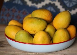 tray of mango