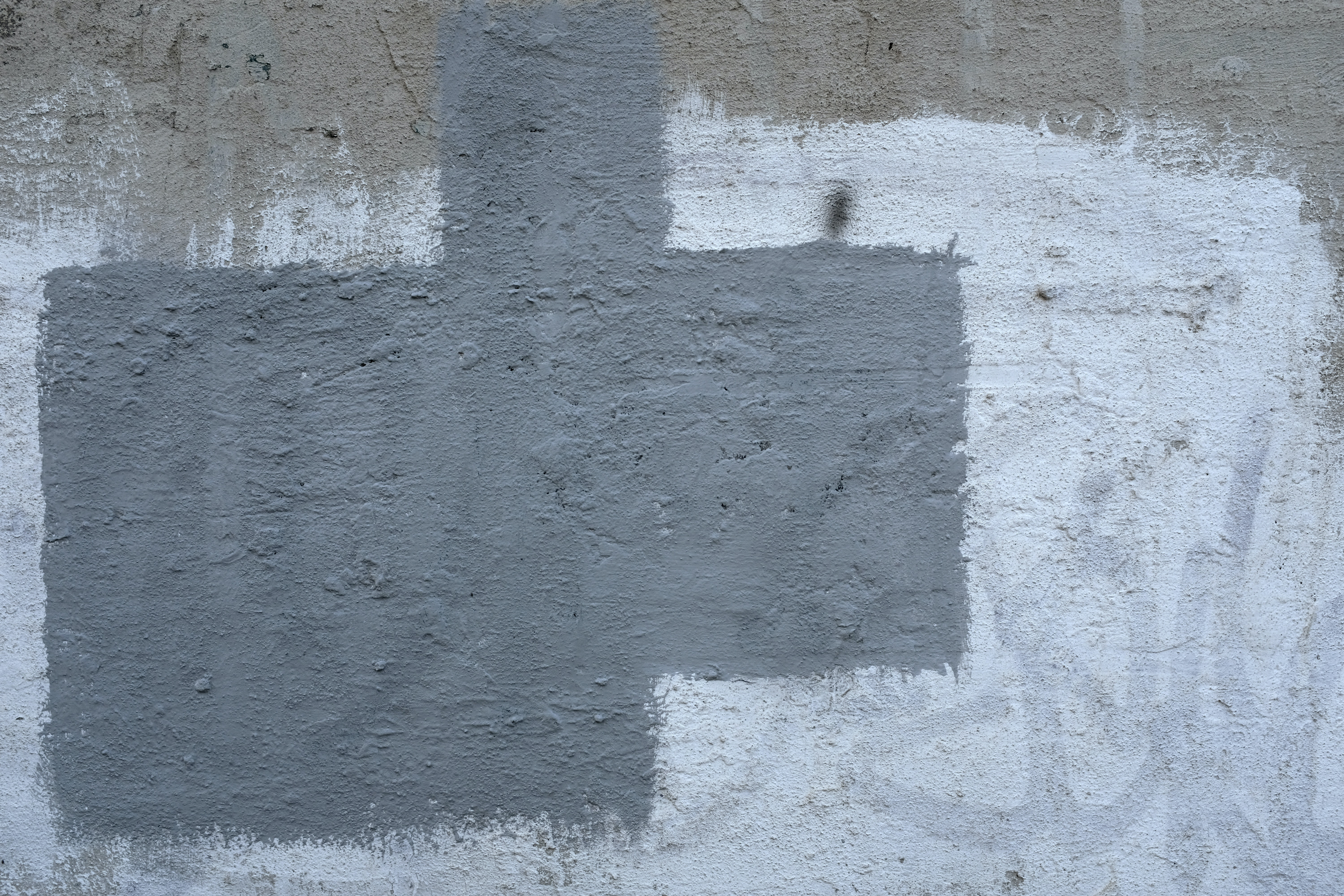 white and gray paint