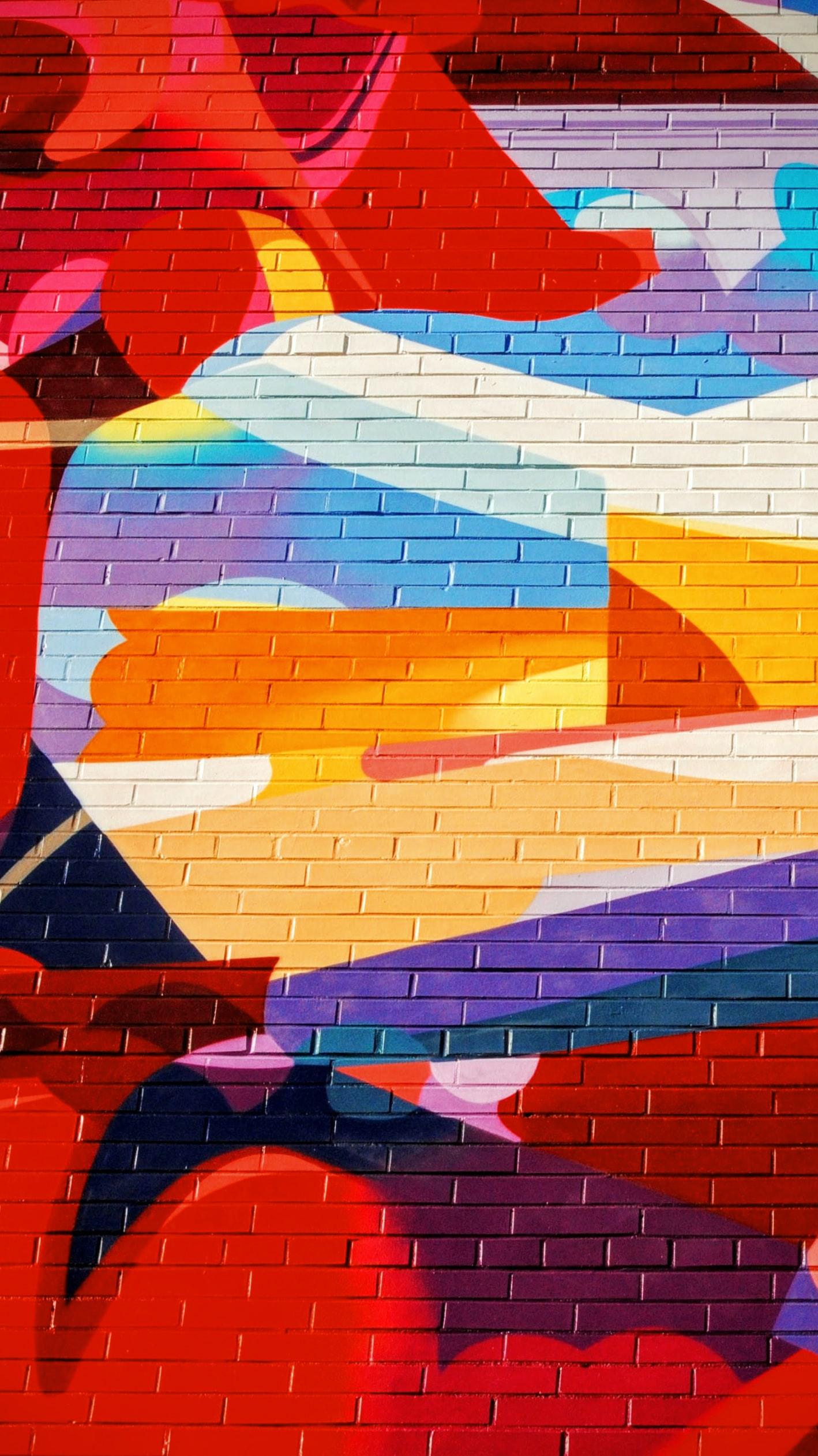 multicolored mural painting