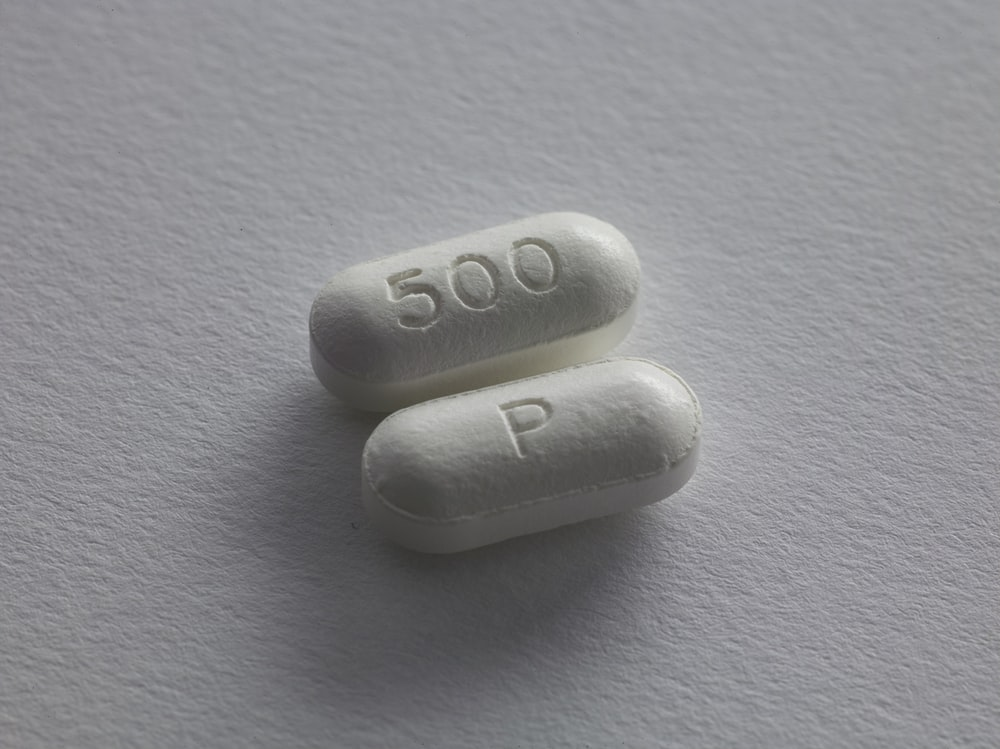 two white tablets