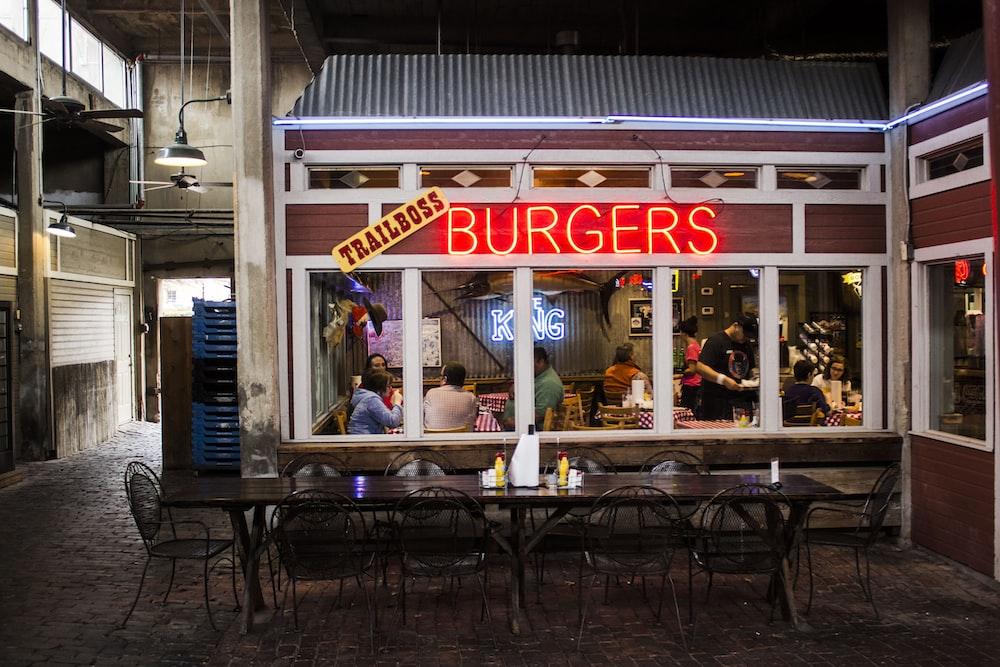 closeup photo of Trailboss Burgers restaurant