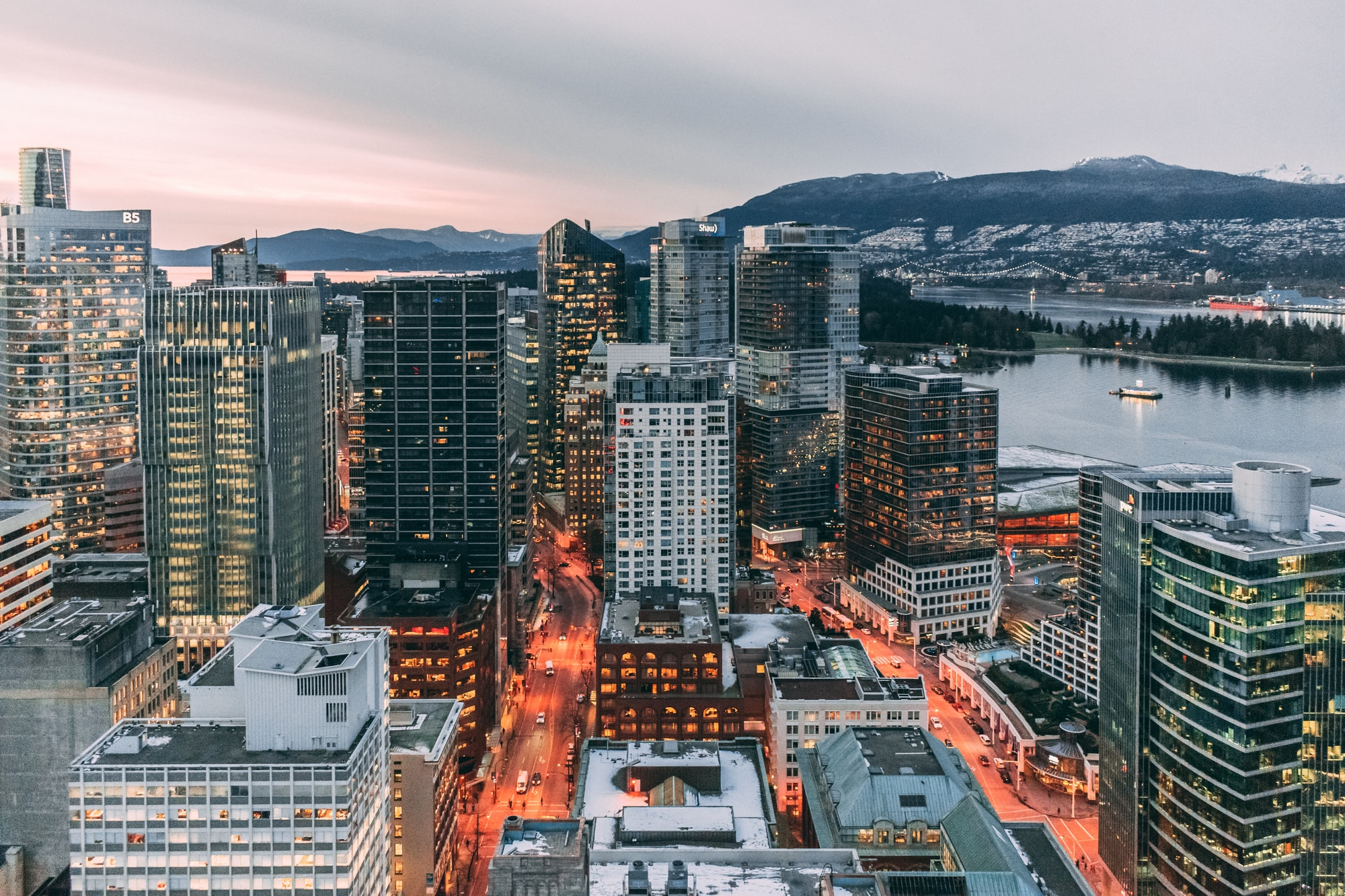 Be a tourist in Vancouver, British Columbia