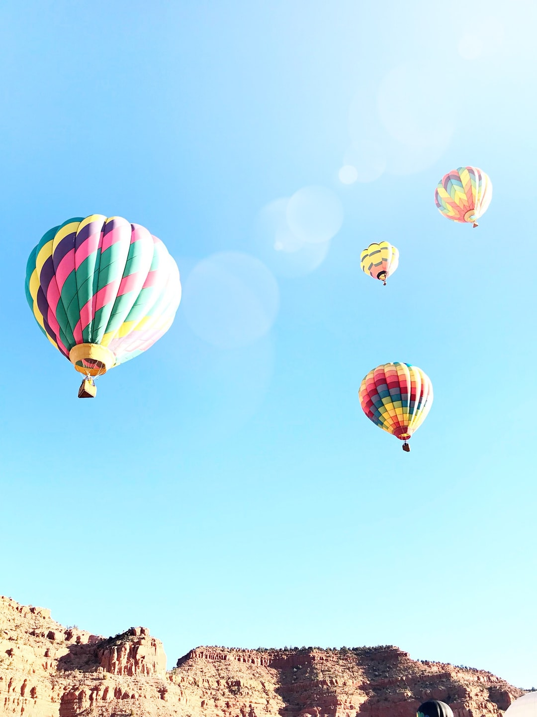 Taken at the Balloons and Tunes festival in Kanab, UT 2/17/18