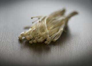 brown rice grain on white textile