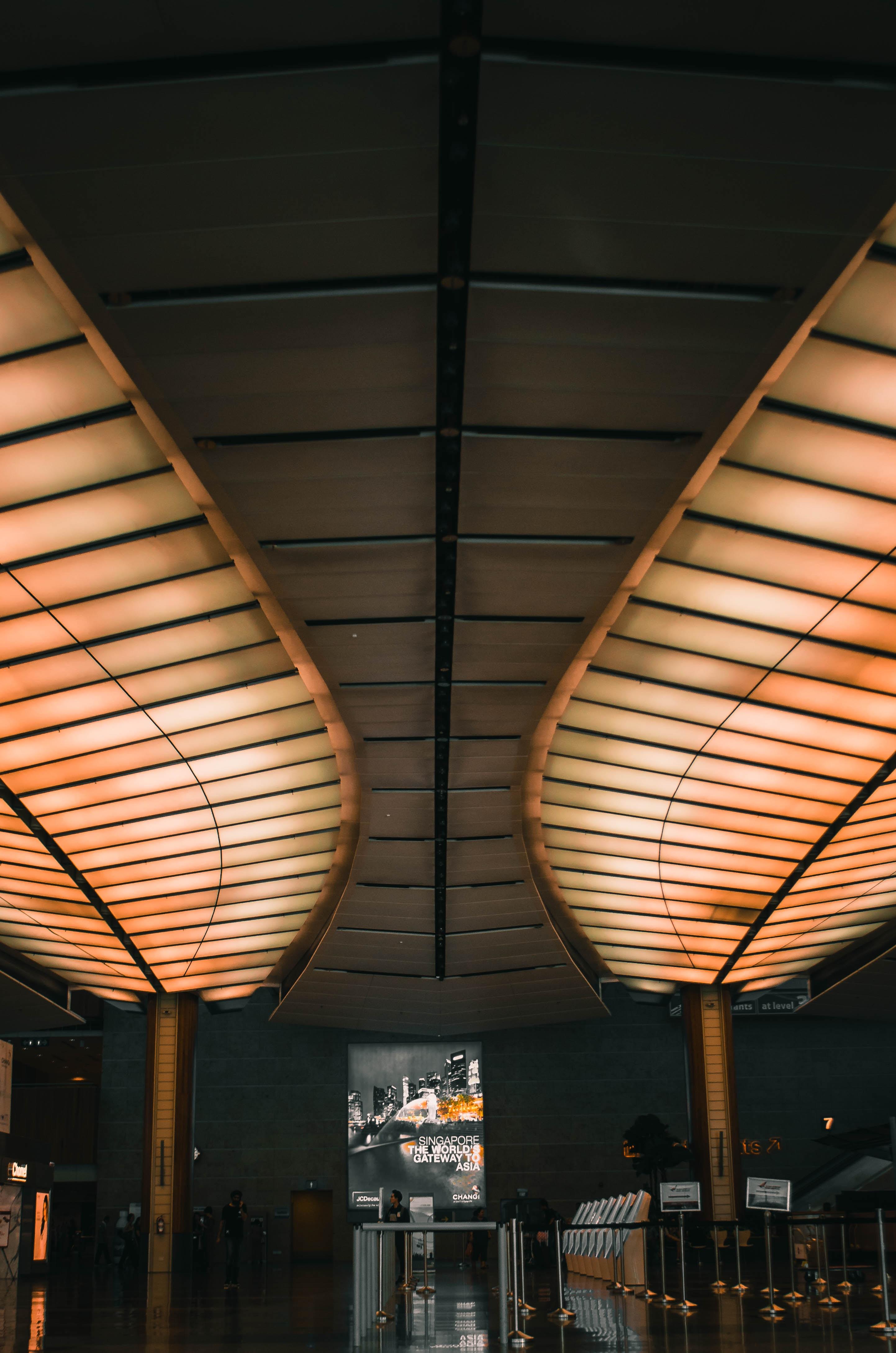 lighted false ceiling