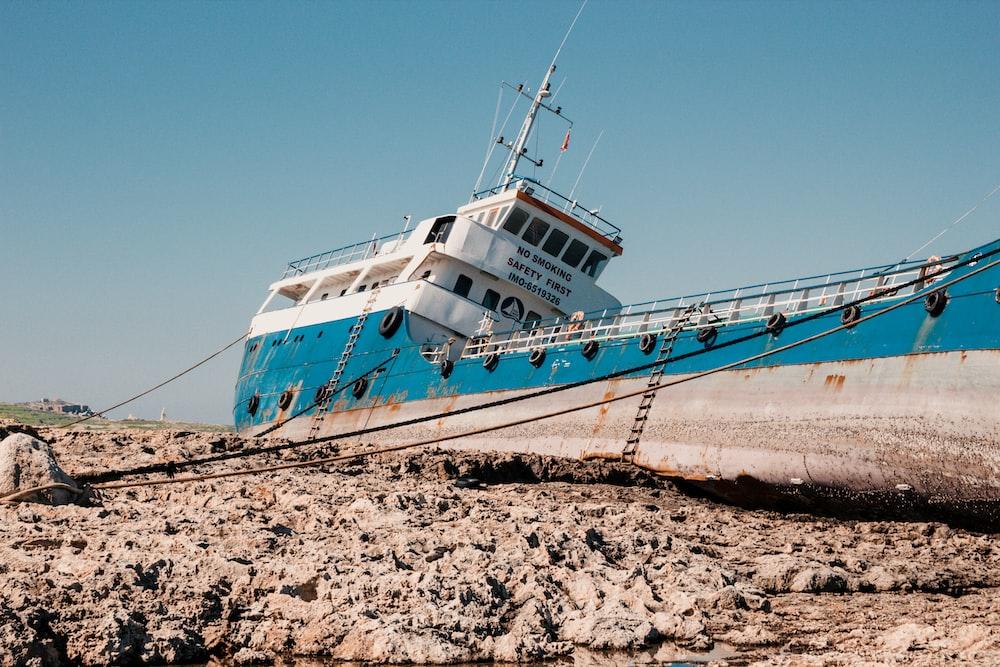 ship on dry land
