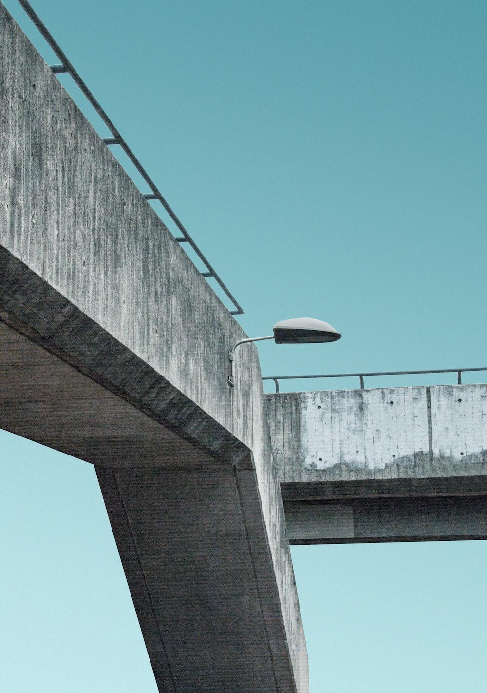 lamp on bridge