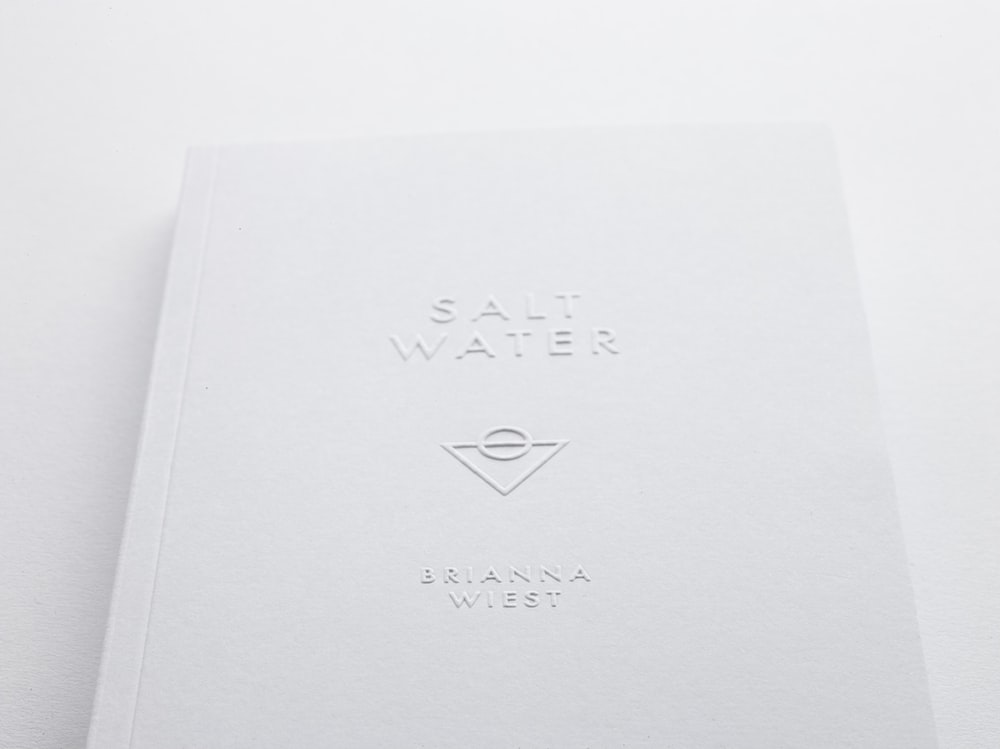 Salt Water Brianna West perfume box