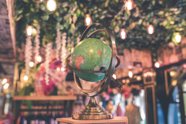spherical globe
