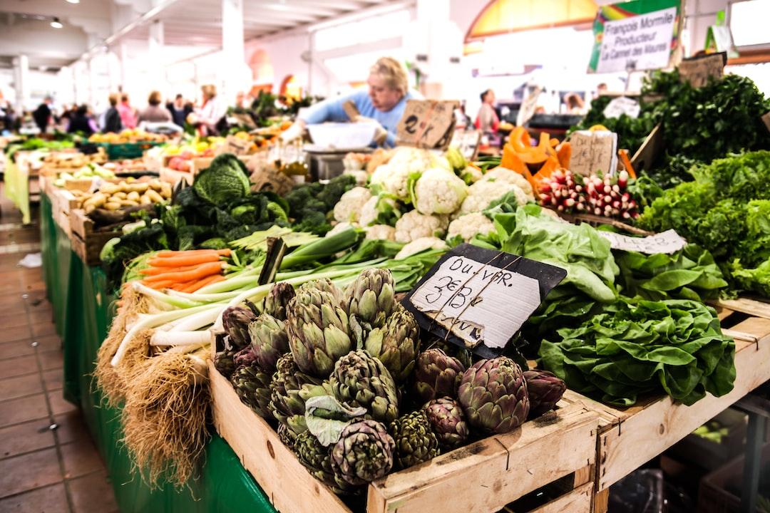 Vegetables at Marche Provencal