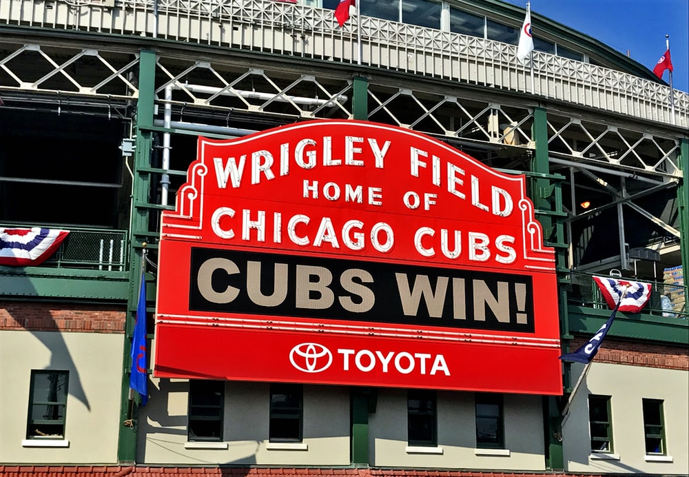 Wringley Field Home of Chicago Cubs