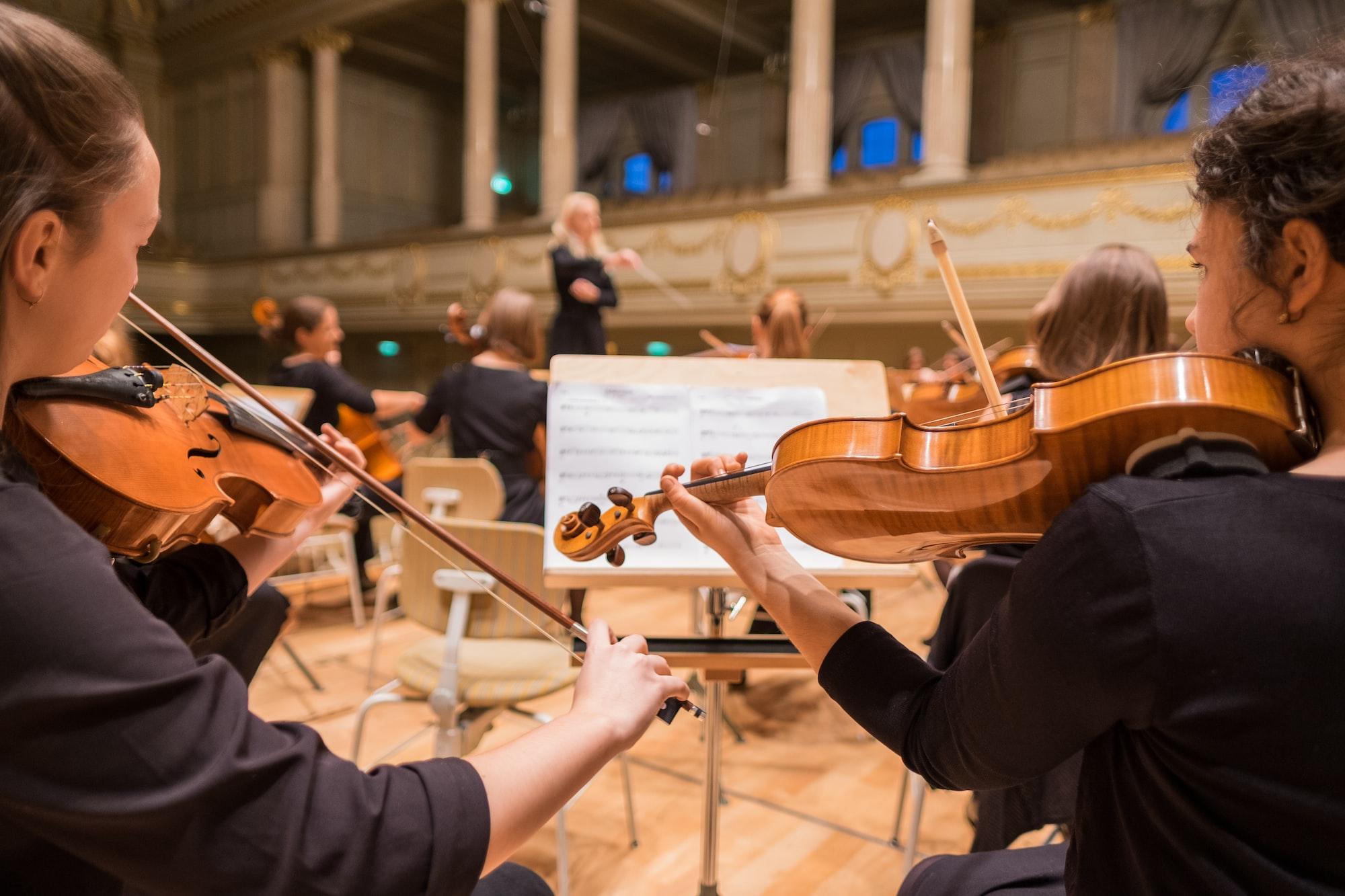 Violas in concert