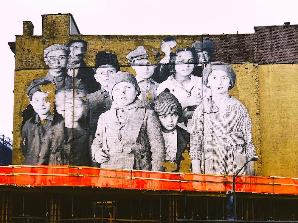 children wall painting