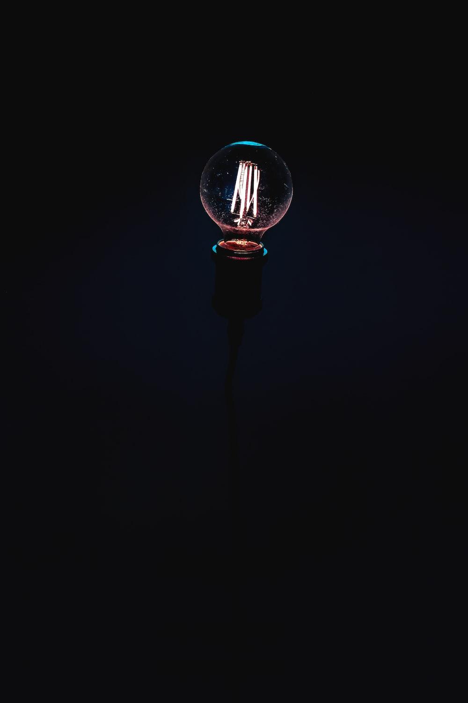 black light bulb