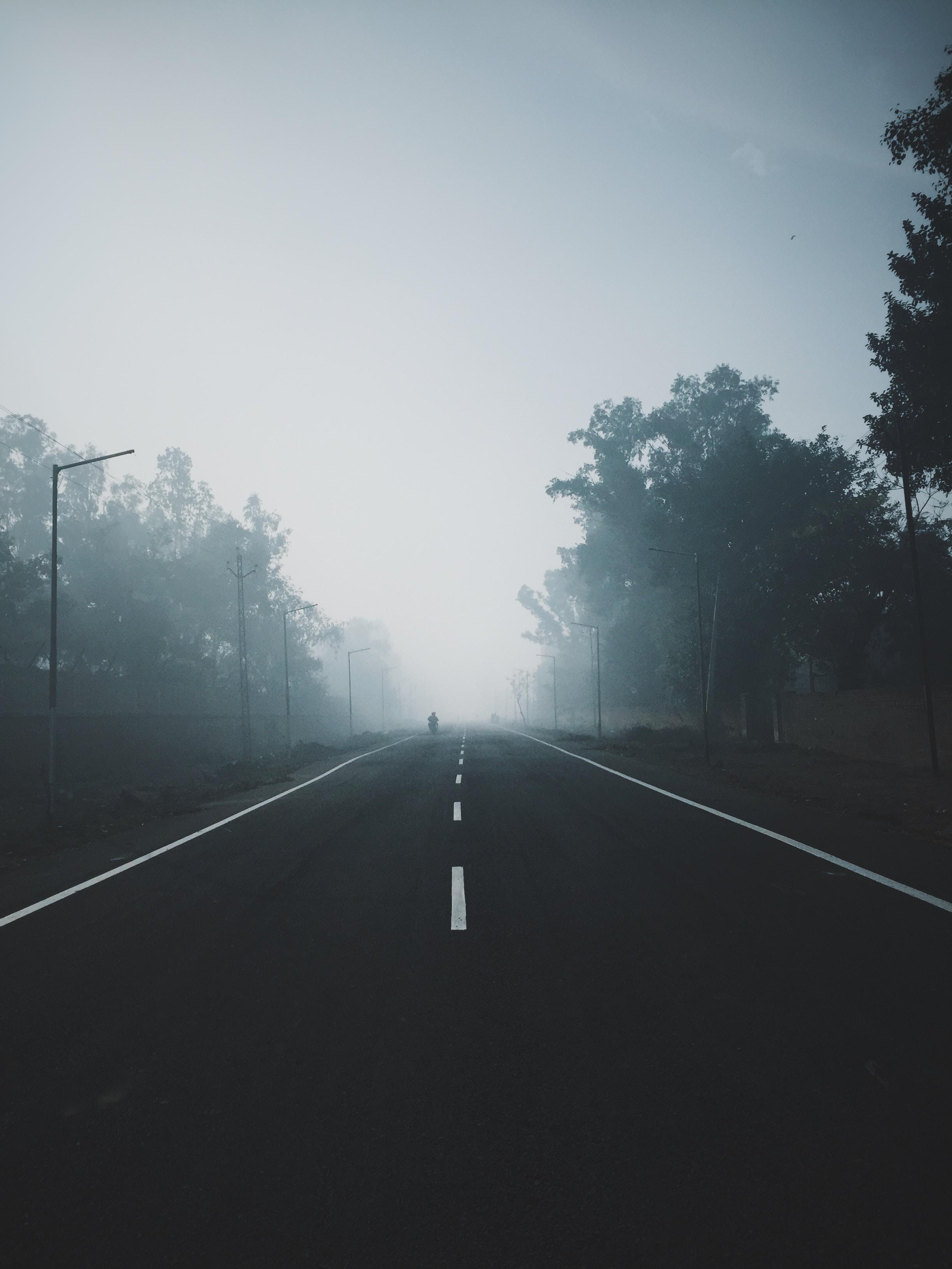 photo of empty road