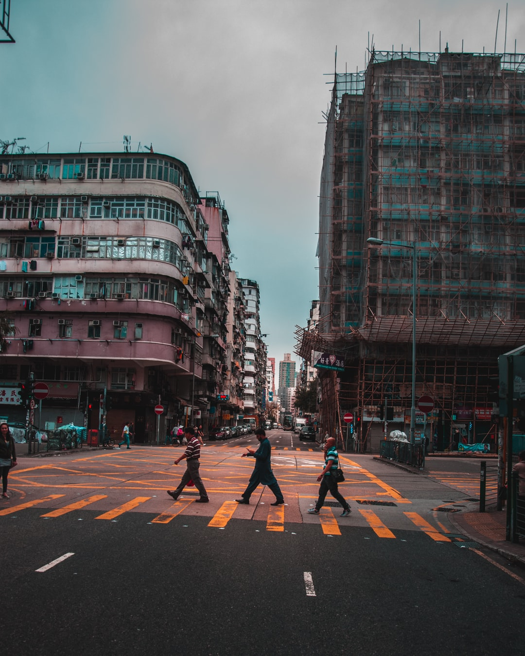 stranger crossing