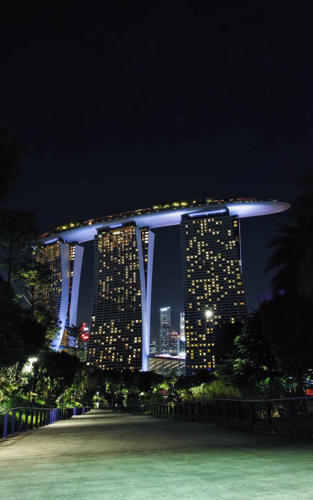 Singapore building under clear sky at daytime