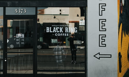 coffee shop pickup line