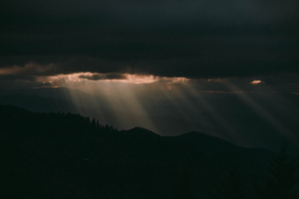sunray through clouds