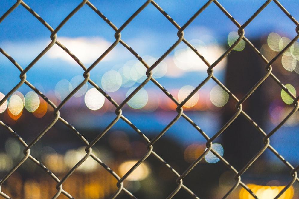 gray fence