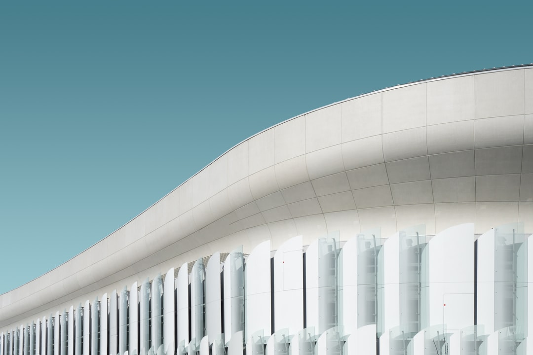 A winter shoot of the U Arena in the new western suburbs of Paris.