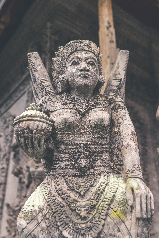 Hindu god statiue