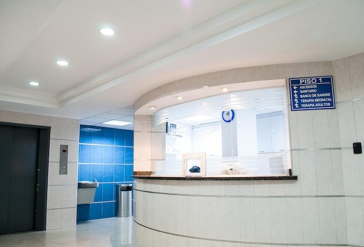 Accueil dans un hôpital. | Photo : Unsplash