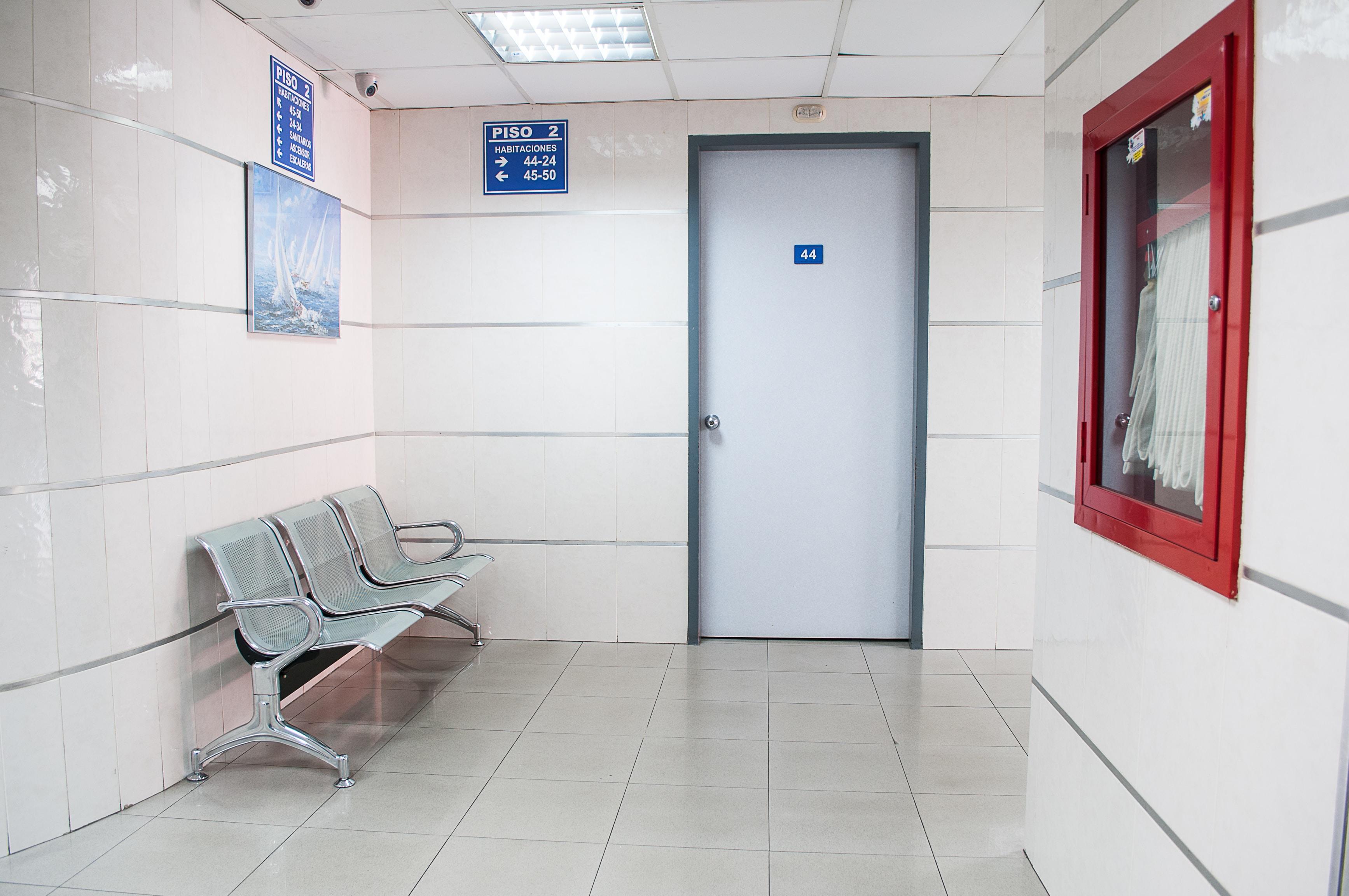white room interior