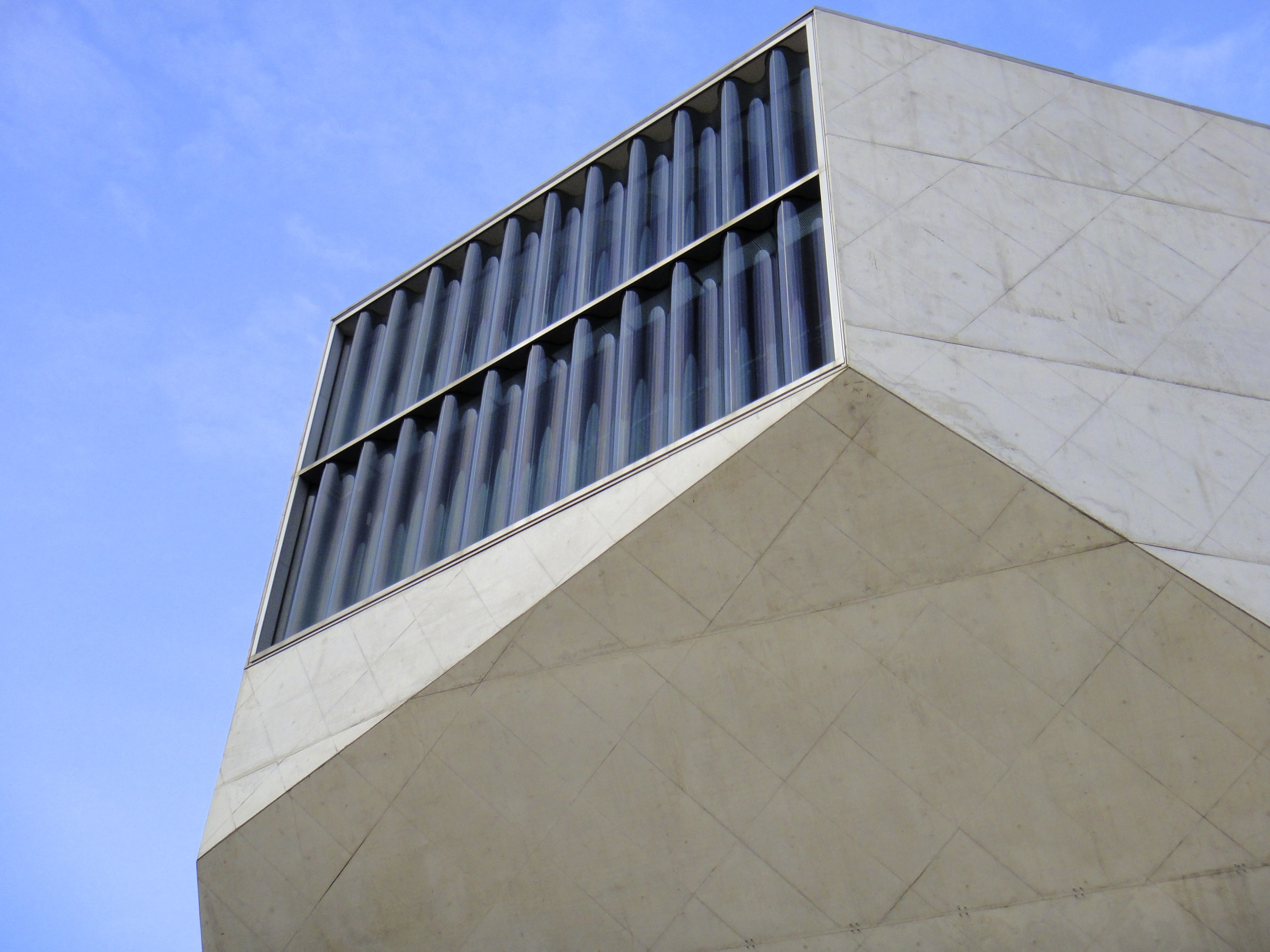 low angle photography of building's head