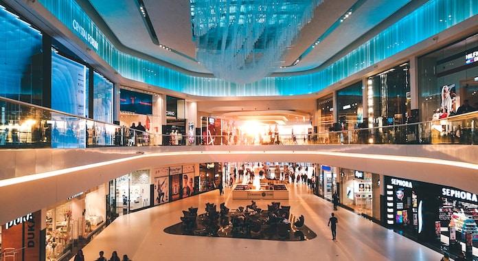 people inside mall