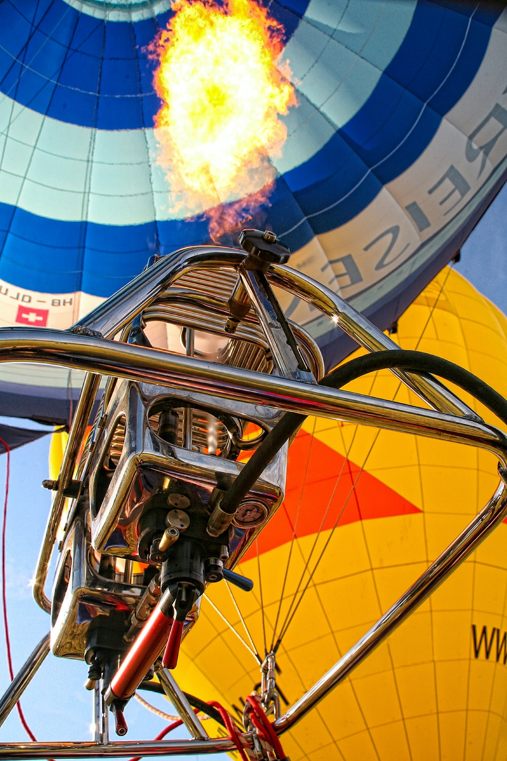stainless steel hot air balloon engine