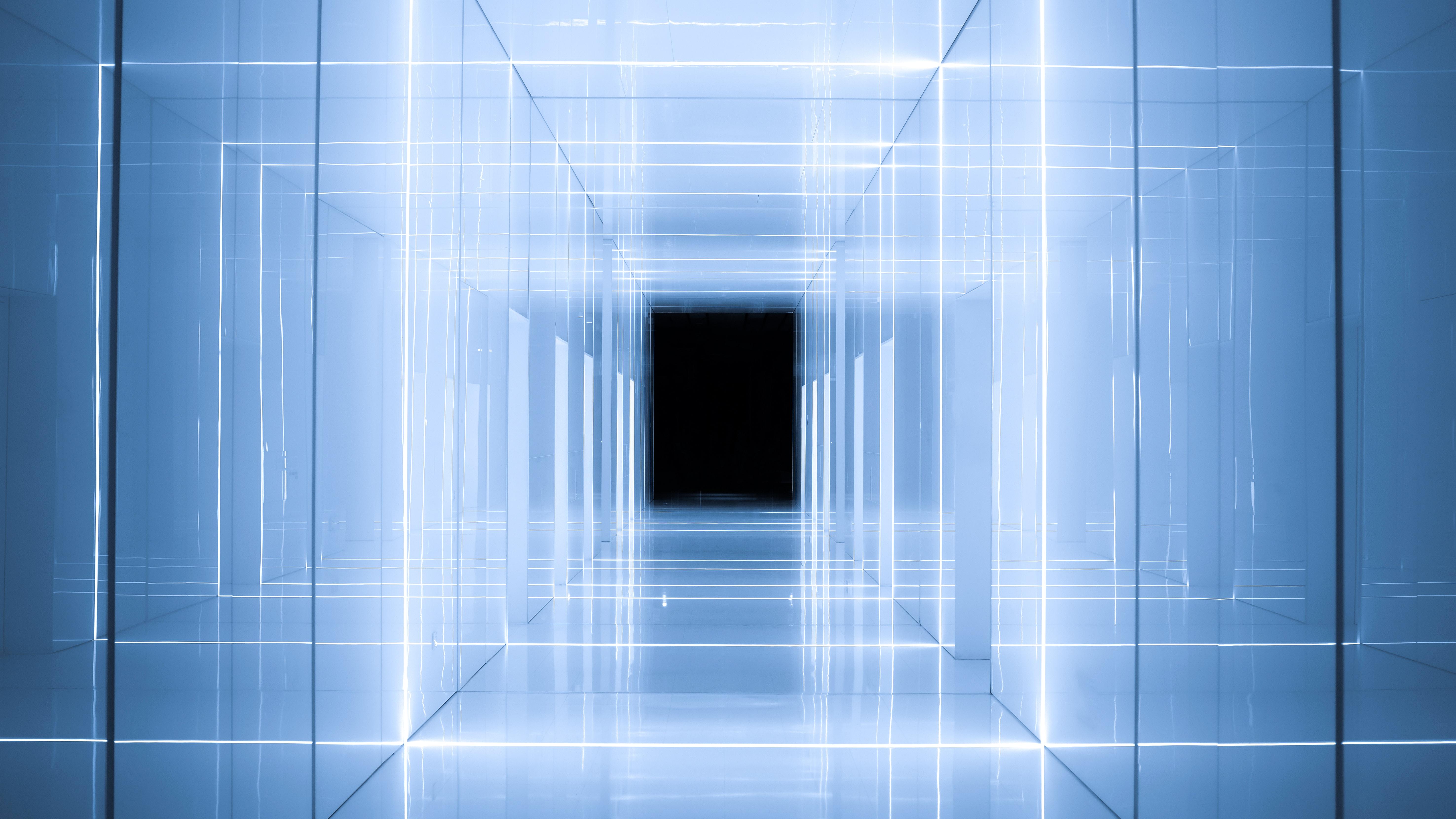 mirrored pathway