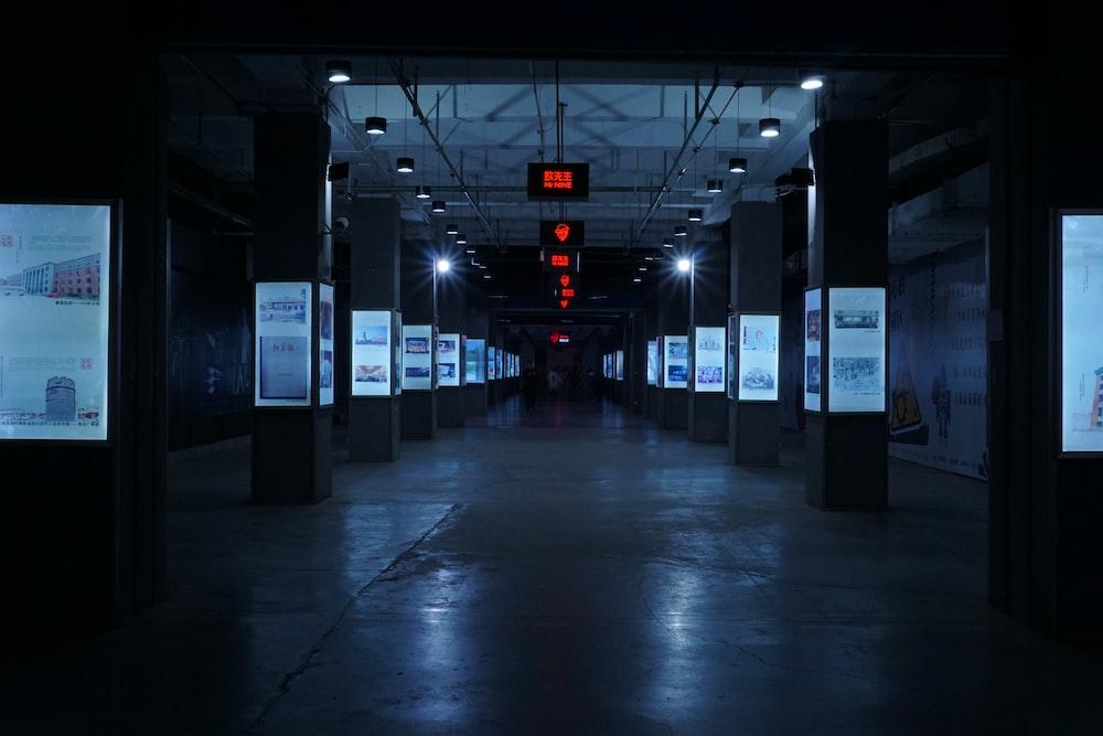 landscape photo of subway